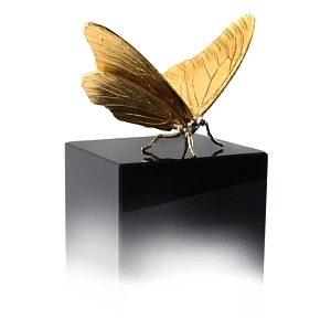 vlinder zilver verguld davinci
