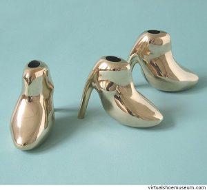 schoenen Petra Laaper, afgewerkt door Davinci