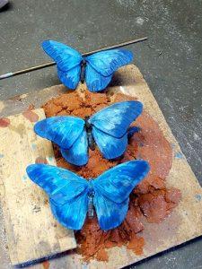patineren vlinder Davinci laatste lagen
